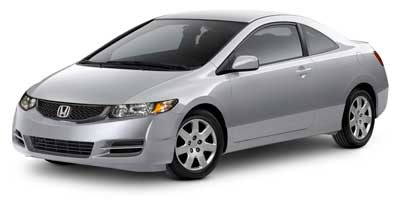 Used Honda Civic Cpe 2dr Auto LX 2010 | Vernon Garage LLC. Vernon, Connecticut
