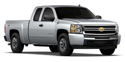 """Chevrolet Silverado 1500 4WD Ext Cab 143.5"""" LT 2010"""