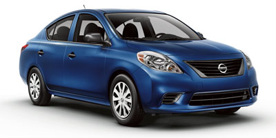 Used Nissan Versa 4dr Sdn CVT 1.6 S 2012 | Central A/S LLC. East Windsor, Connecticut