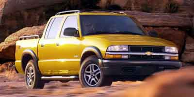 "Used Chevrolet S-10 Crew Cab 123"" WB 4WD LS 2003 