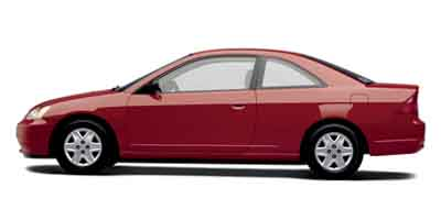 Used Honda Civic 2dr Cpe LX Auto 2003 | All State Motor Inc. Perth Amboy, New Jersey