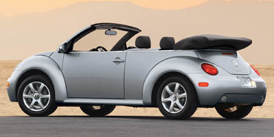 2005 Volkswagen New Beetle Convertible 2dr GLS Auto, available for sale in Wallingford, CT