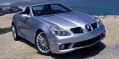 Used 2005 Mercedes-Benz SLK-Class in Franklin Square, New York | Luxury Motor Club. Franklin Square, New York