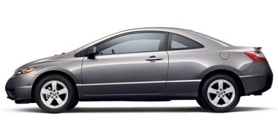 Used 2006 Honda Civic Cpe in New Britain, Connecticut | K and G Cars . New Britain, Connecticut