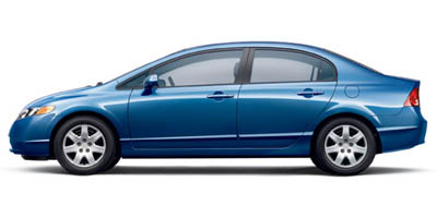 Used 2007 Honda Civic Sdn in Newark, New Jersey | Dash Auto Gallery Inc.. Newark, New Jersey