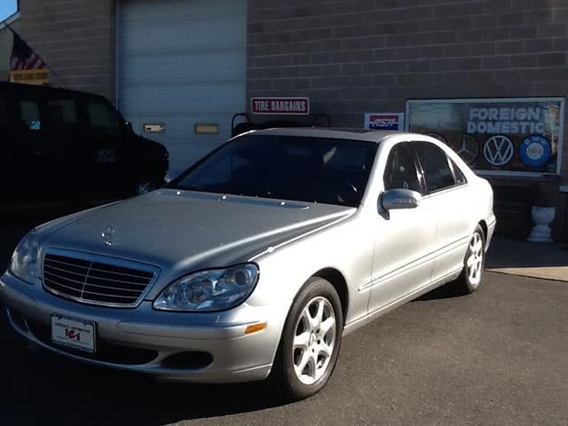 2003 Mercedes-Benz S-Class 4dr Sdn 5.0L AWD, available for sale in Wallingford, Connecticut | Vertucci Automotive Inc. Wallingford, Connecticut