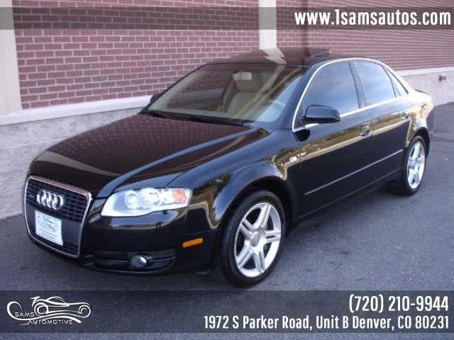 Used 2006 Audi A4 in Denver, Colorado | Sam's Automotive. Denver, Colorado