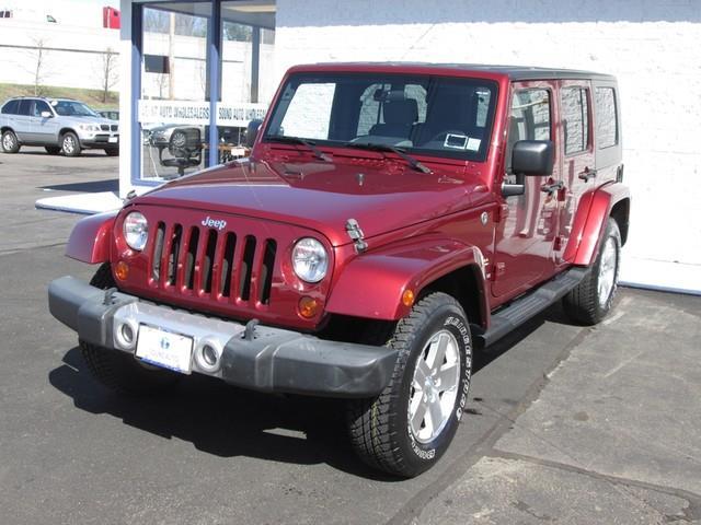 2009 Jeep Wrangler Unlimited Sahara photo