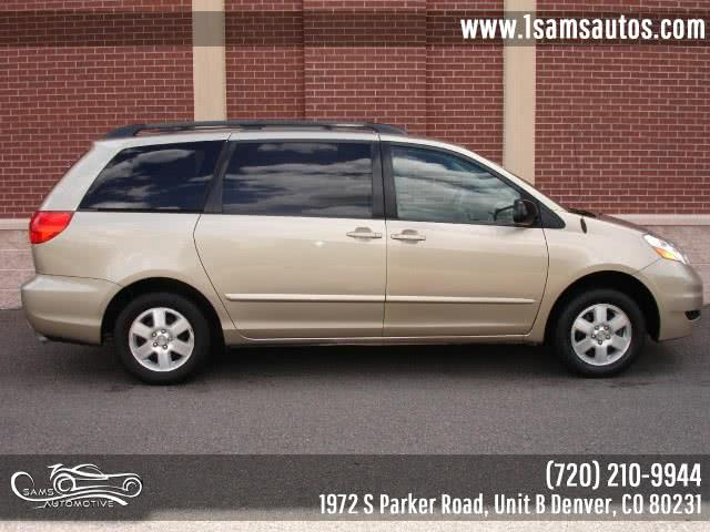 2006 Toyota Sienna LE, available for sale in Denver, Colorado | Sam's Automotive. Denver, Colorado