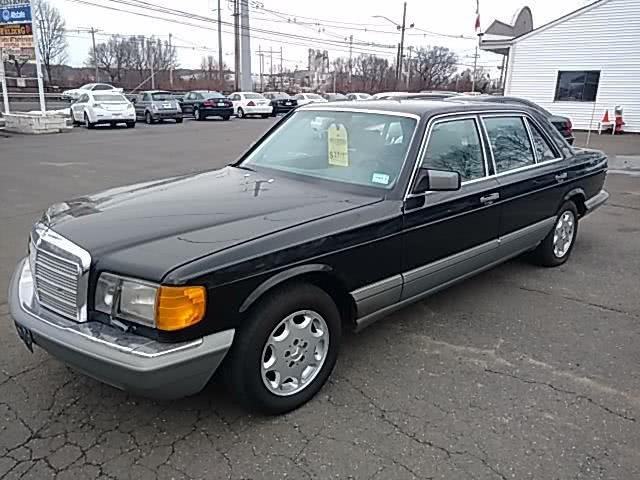 1988 Mercedes-Benz 420 Series 4dr Sedan 420SEL Auto, available for sale in Wallingford, Connecticut | Vertucci Automotive Inc. Wallingford, Connecticut