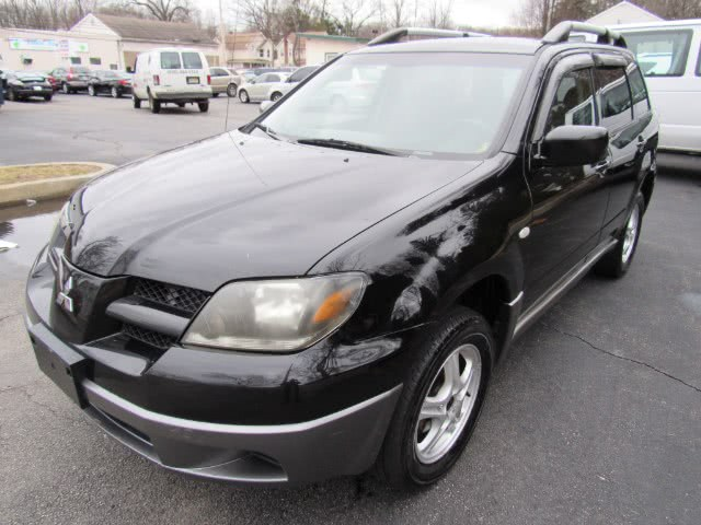 2004 Mitsubishi Outlander 4dr AWD LS, available for sale in Paterson, New Jersey | MFG Prestige Auto Group. Paterson, New Jersey