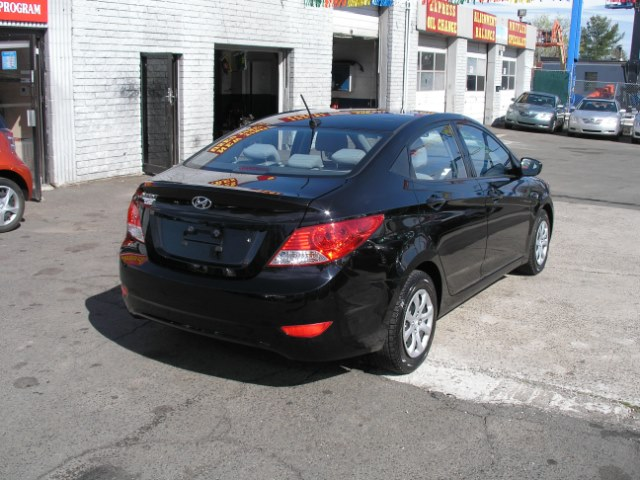 2012 Hyundai Accent 4dr Sdn Auto GLS, available for sale in New Haven, Connecticut | Performance Auto Sales LLC. New Haven, Connecticut