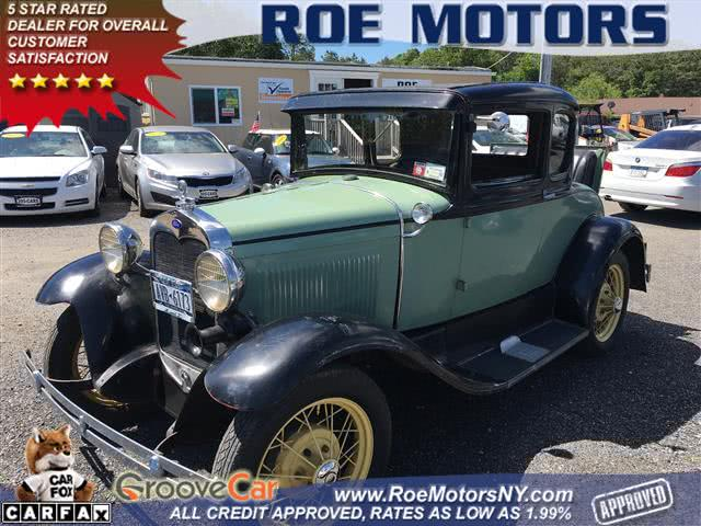 Used 1930 Ford Model A in Shirley, New York | Roe Motors Ltd. Shirley, New York