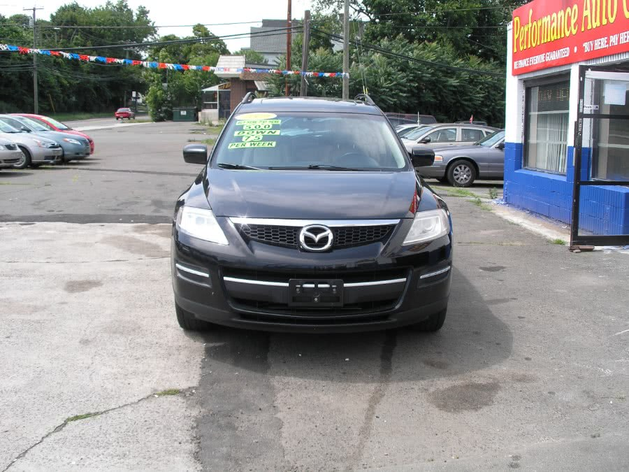 Used Maroon All Wheel Drive Mazda Cx 9 New Haven Ct Performance Auto Sales Llc