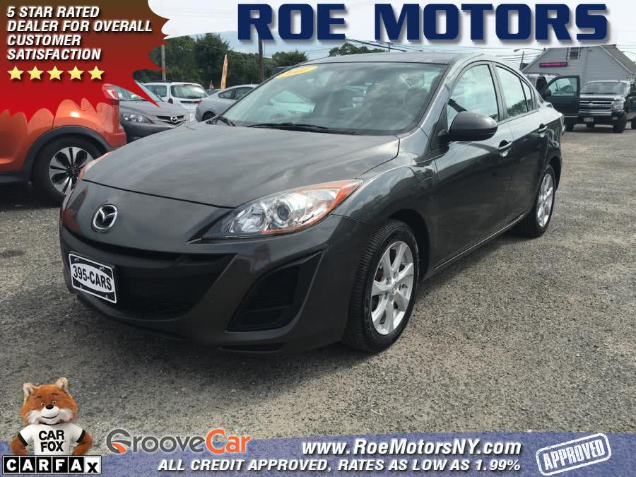 2011 Mazda Mazda3 4dr Sdn Auto i Touring, available for sale in Shirley, NY