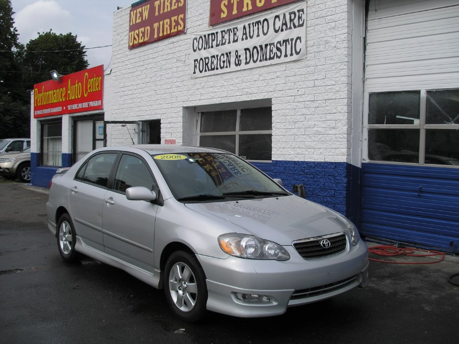 2008 Toyota Corolla 4dr Sdn Man S, available for sale in New Haven, Connecticut | Performance Auto Sales LLC. New Haven, Connecticut