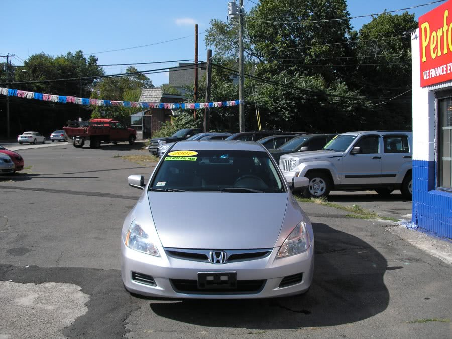 Used 2007 Honda Accord Sdn in New Haven, Connecticut | Performance Auto Sales LLC. New Haven, Connecticut