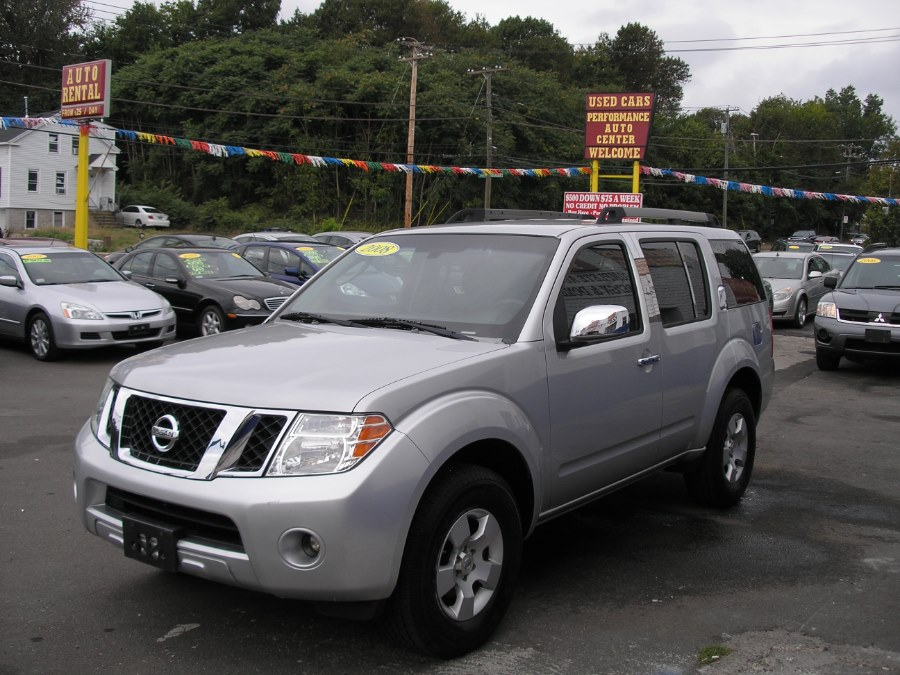 2008 Nissan Pathfinder 4WD 4dr V6 SE, available for sale in New Haven, Connecticut | Performance Auto Sales LLC. New Haven, Connecticut
