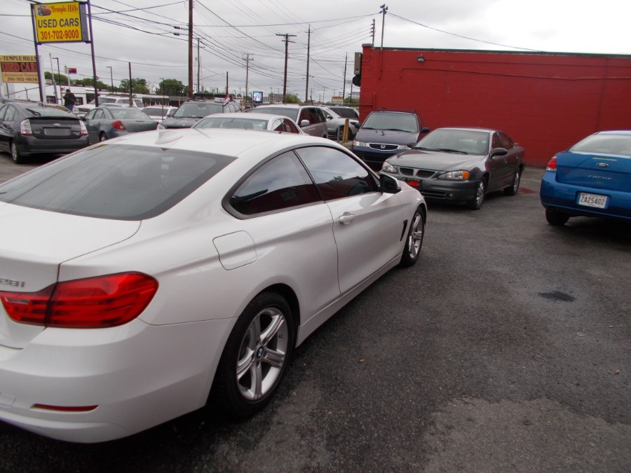 2014 BMW 4 Series 2dr Cpe 428i xDrive AWD SULEV, available for sale in Temple Hills, Maryland | Temple Hills Used Car. Temple Hills, Maryland