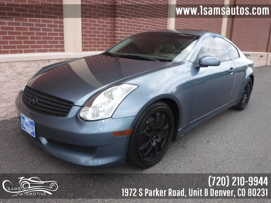 Used 2006 Infiniti G35 Coupe in Denver, Colorado | Sam's Automotive. Denver, Colorado