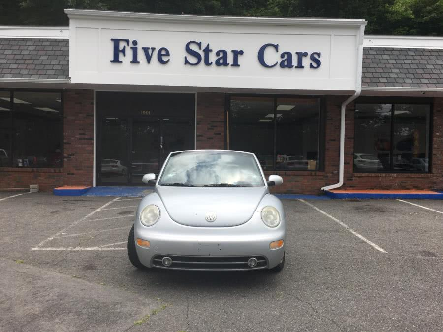 Used 2003 Volkswagen New Beetle Convertible in Meriden, Connecticut | Five Star Cars LLC. Meriden, Connecticut
