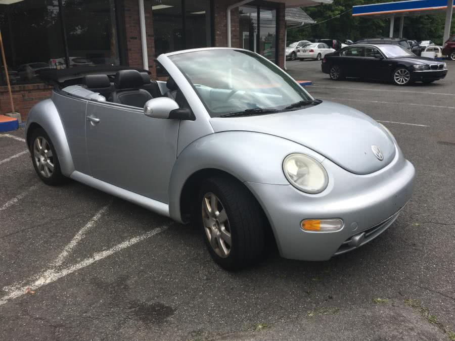 Used Volkswagen New Beetle Convertible 2dr Convertible GLX Turbo Auto 2003 | Five Star Cars LLC. Meriden, Connecticut
