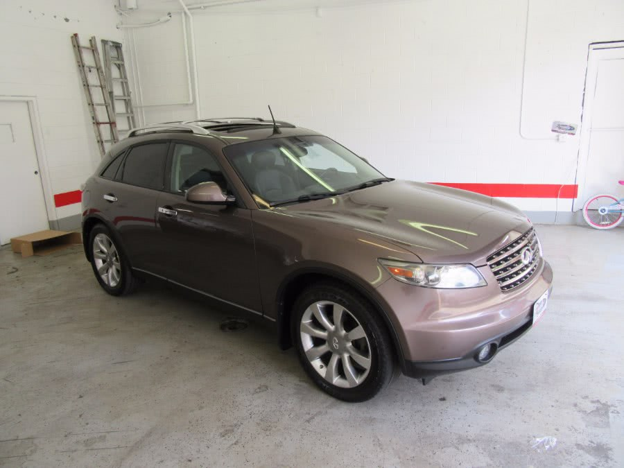 2005 Infiniti FX35 4dr 2WD, available for sale in Little Ferry, New Jersey | Victoria Preowned Autos Inc. Little Ferry, New Jersey