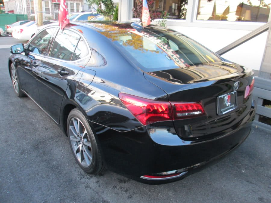 2015 Acura TLX 4dr Sdn V6 Tech Navi Sunroof, available for sale in Middle Village, New York | Road Masters II INC. Middle Village, New York