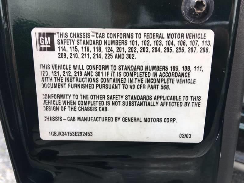 2003 Chevrolet Silverado 3500 4X4 2dr Regular Cab, available for sale in Framingham, Massachusetts | Mass Auto Exchange. Framingham, Massachusetts