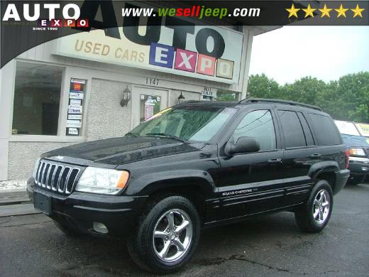 Used Jeep Grand Cherokee-V8 Utility 4D Limited 4WD 2002 | Auto Expo. Huntington, New York