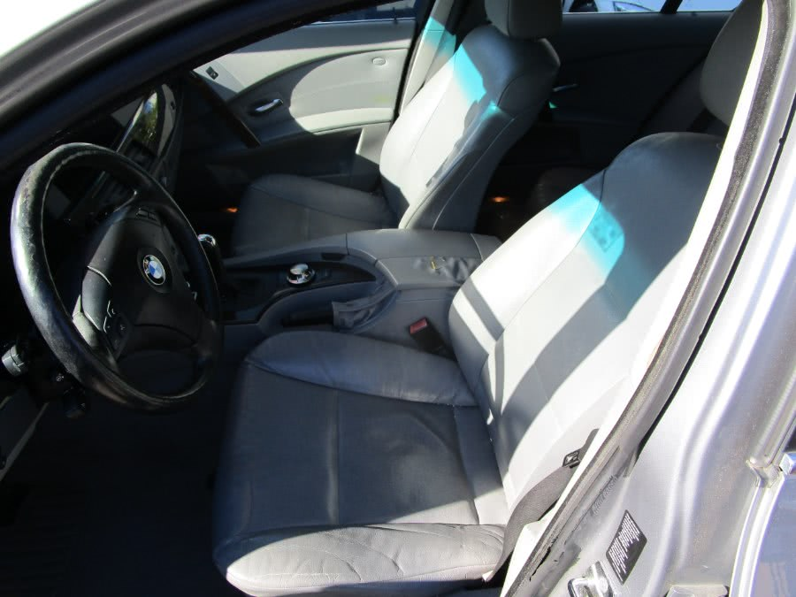 2004 BMW 5 Series 525i 4dr Sdn, available for sale in Jamaica, New York | Hillside Auto Mall Inc.. Jamaica, New York