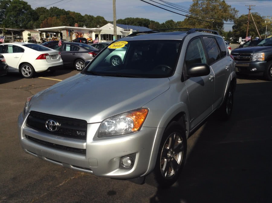 Used Toyota RAV4 4WD 4dr V6 5-Spd AT Sport (Natl) 2010 | M&M Motors International. Clinton, Connecticut