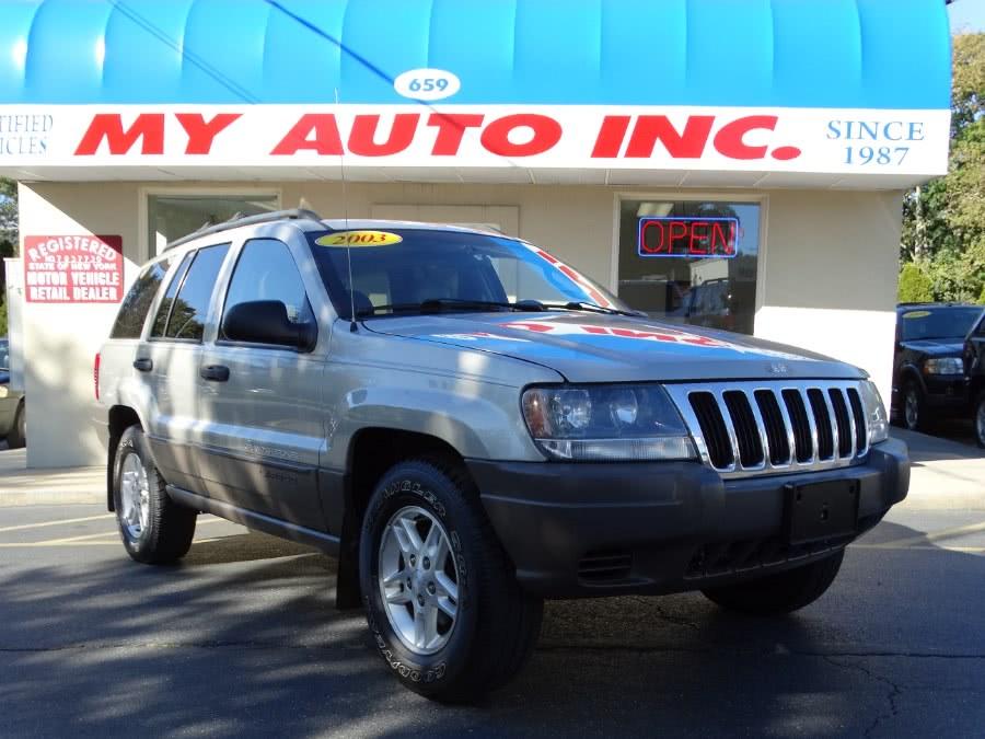 Used Jeep Grand Cherokee 4dr Laredo 4WD 2003 | My Auto Inc.. Huntington Station, New York