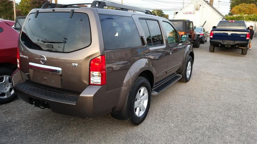2008 Nissan Pathfinder 4WD 4dr V6 SE, available for sale in Shirley, New York | Roe Motors Ltd. Shirley, New York
