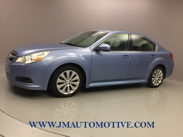 Used Subaru Legacy 4dr Sdn H4 Auto 2.5i Ltd Pwr Moon 2011 | J&M Automotive Sls&Svc LLC. Naugatuck, Connecticut