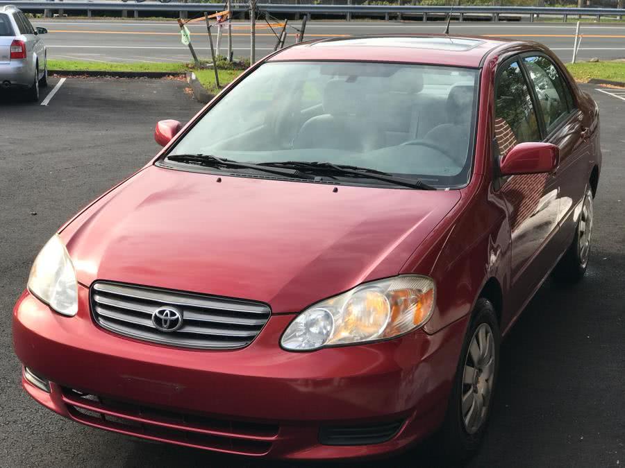 Used 2003 Toyota Corolla in Canton, Connecticut   Lava Motors. Canton, Connecticut