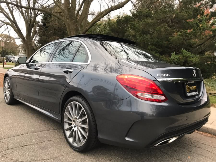 Used Mercedes-Benz C-Class 4dr Sdn C300 Sport 4MATIC 2015 | Luxury Motor Club. Franklin Square, New York