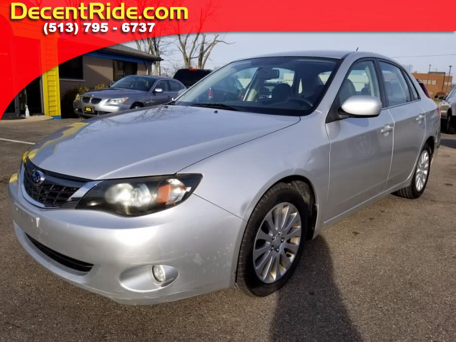 Used 2008 Subaru Impreza Sedan in West Chester, Ohio | Decent Ride.com. West Chester, Ohio