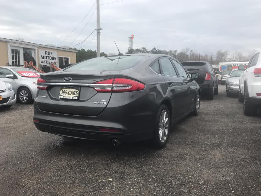 2017 Ford Fusion Hybrid SE FWD, available for sale in Shirley, New York   Roe Motors Ltd. Shirley, New York