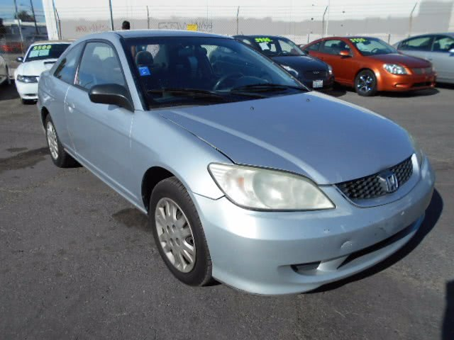 Used Honda Civic Cpe LX AT 2005 | U Save Auto Auction. Garden Grove, California