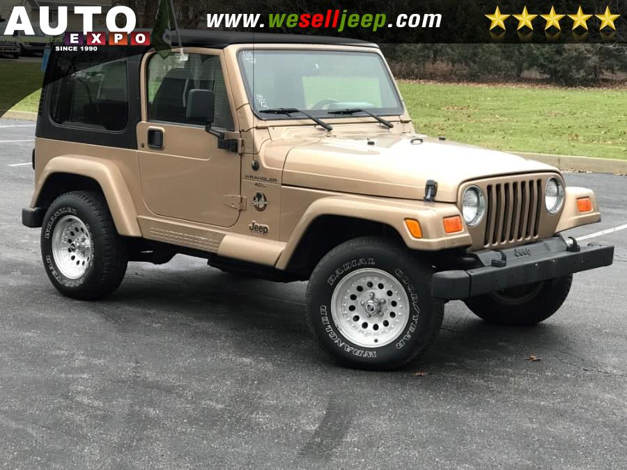 Used Jeep Wrangler 2dr Sahara 2000 | Auto Expo. Huntington, New York
