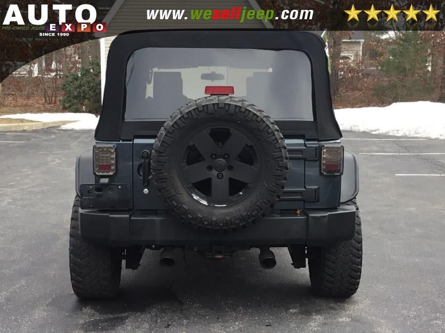 2008 Jeep Wrangler 4WD 4dr Unlimited Sahara, available for sale in Huntington, New York | Auto Expo. Huntington, New York