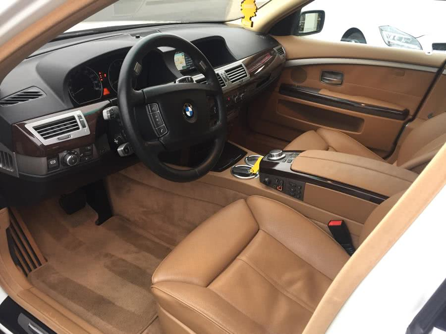 2007 BMW 7 Series 4dr Sdn 750i, available for sale in Plainview , New York | Ace Motor Sports Inc. Plainview , New York
