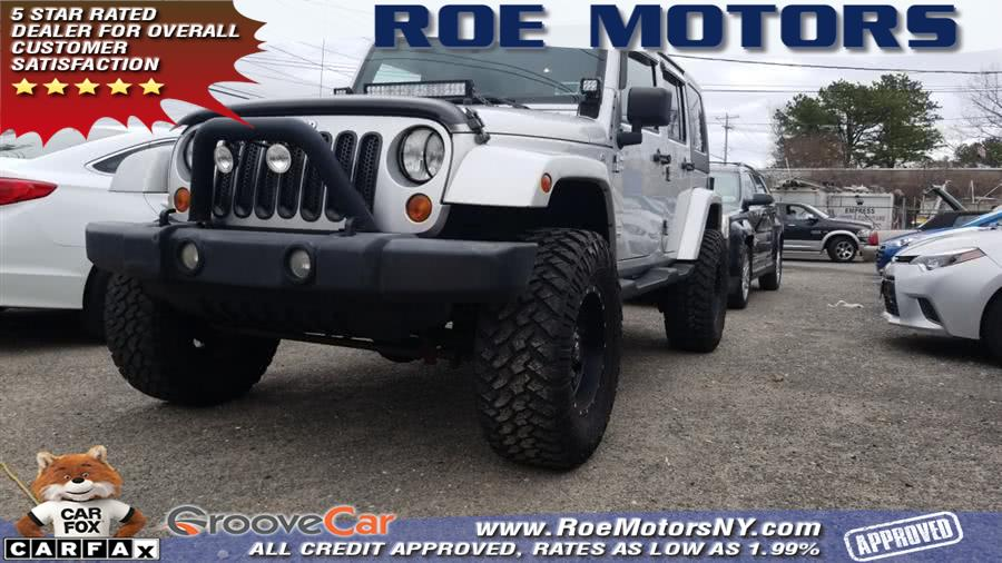 2007 Jeep Wrangler 4WD 4dr Unlimited Sahara, available for sale in Shirley, NY