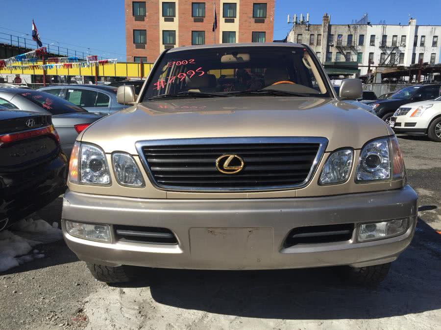 Used 2002 Lexus LX 470 in Brooklyn, New York | Atlantic Used Car Sales. Brooklyn, New York