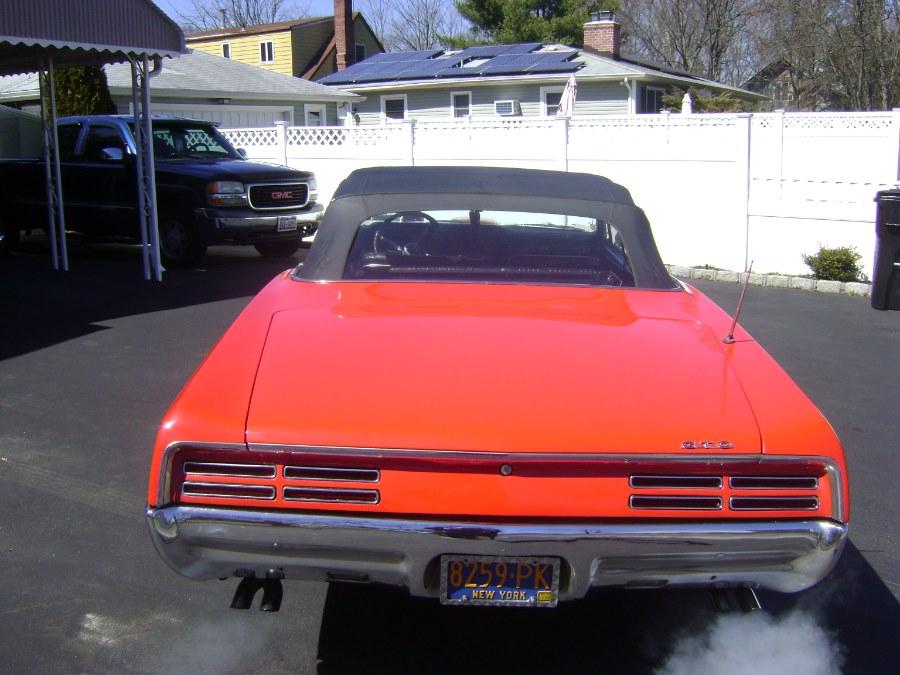 Used GTO CONVERTIBLE GTO 1967   TSM Automotive Consultants Ltd.. West Babylon, New York