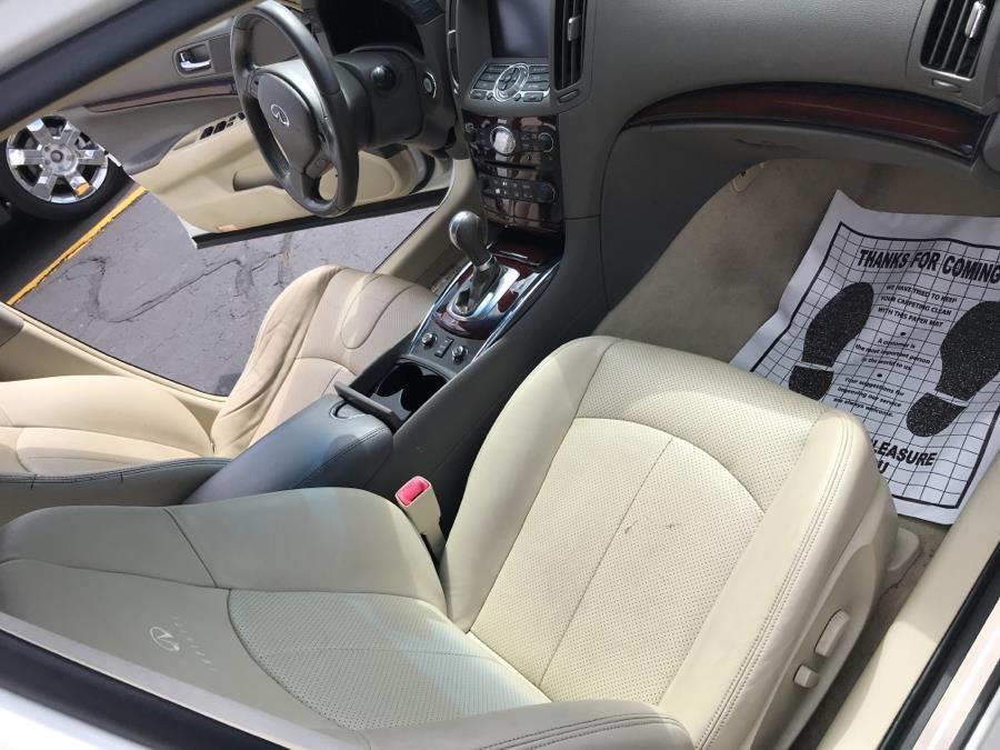 Used Infiniti G37 Sedan 4dr x AWD 2010 | Lex Autos LLC. Hartford, Connecticut