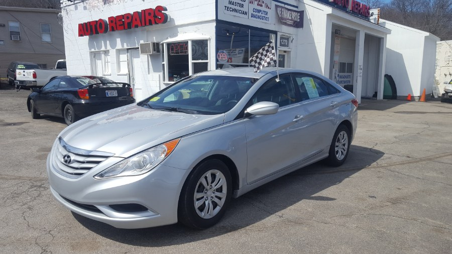 2011 Hyundai Sonata 4dr Sdn 2.4L Auto GLS, available for sale in Worcester, Massachusetts | Rally Motor Sports. Worcester, Massachusetts