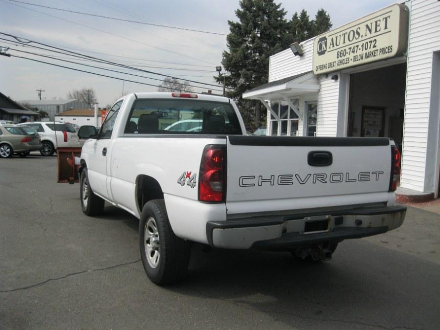 2006 Chevrolet Silverado 1500 4WD WT, available for sale in Plainville, Connecticut | CK Autos. Plainville, Connecticut