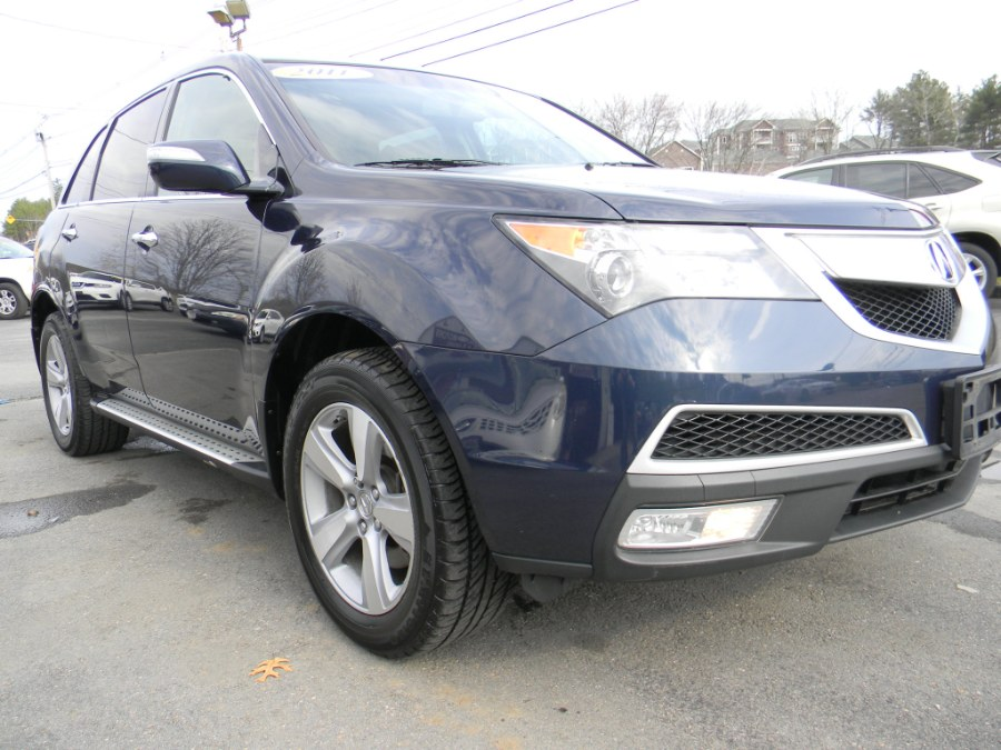 2011 Acura MDX AWD 4dr, available for sale in Southborough, Massachusetts | M&M Vehicles Inc dba Central Motors. Southborough, Massachusetts